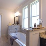 Master Ensuite With Large Soaker Tub And Double Sinks